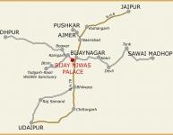 Ajmer Bijay Niwas map