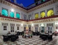 Bharatpur Laxmi Vilas gallery-courtyard