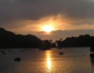 Sunset at Nakki Lake