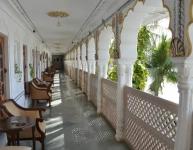 Pushkar palace balcony