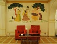 Roopangarh Fort Deluxe Room Sofa